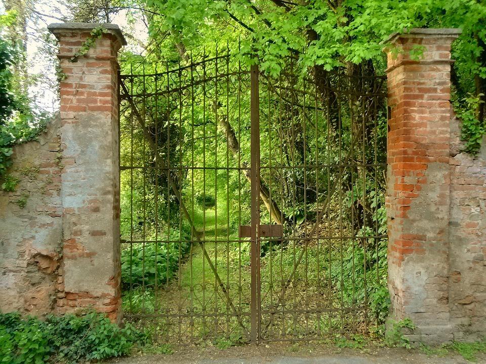 Photo gratuite portail entr e viale jardin image Entree de jardin