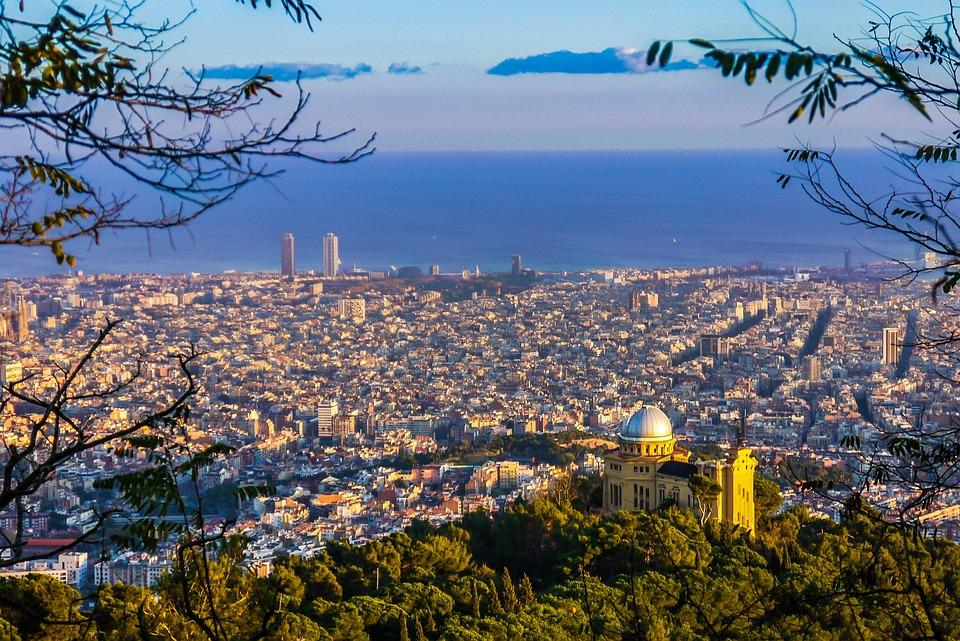Barcelona, Vistas, Cataluña, Ciudad, Ciudades, Paisaje