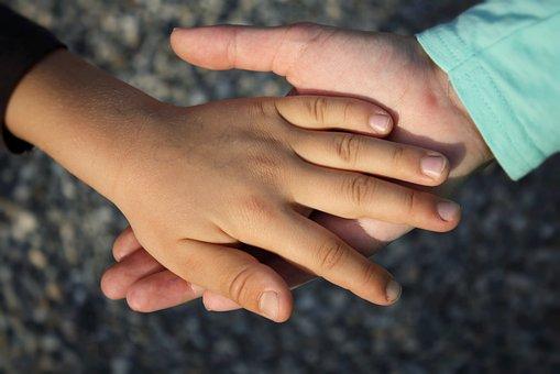 Hand, Child, Children, Hands