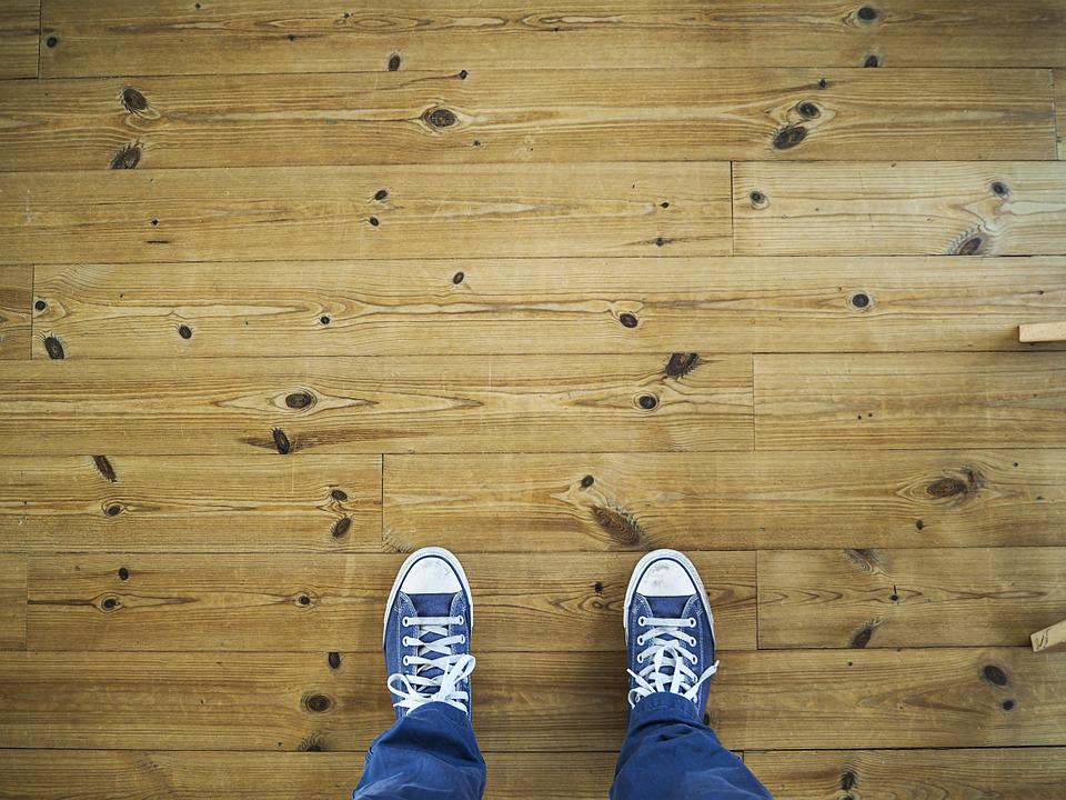Feet, Floor, Laminate Flooring