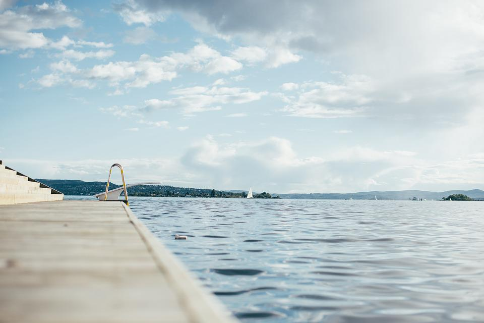 Wasser, See, Schwimmen, Schwimmbad, Blau, Freizeit