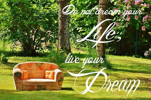 夢, ライブ, 人生の夢, フルフィルメント, 勇気