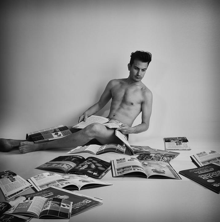 Nacktmännchen-Models Video