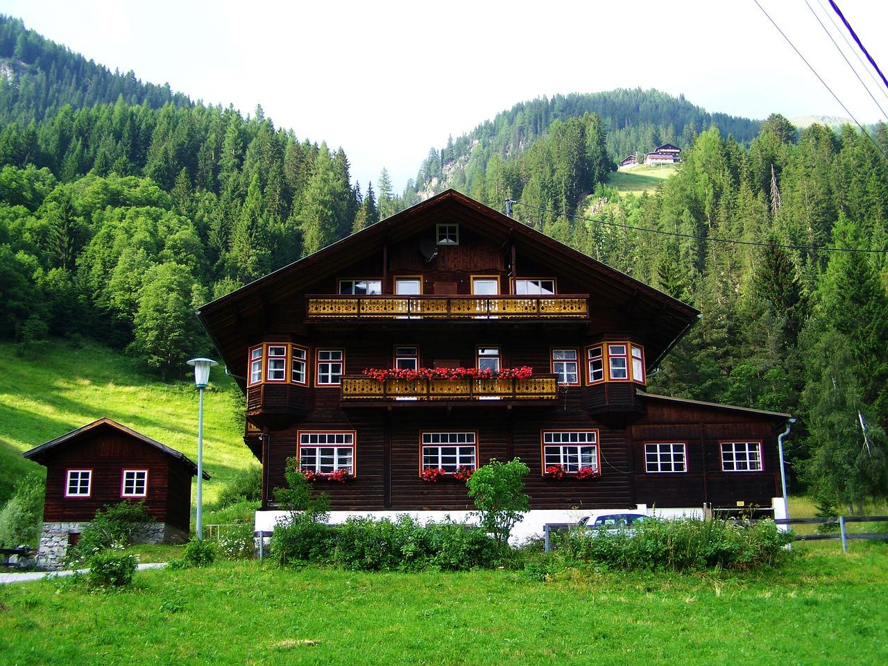 Alpine House Chata - Fotografie zdarma na Pixabay