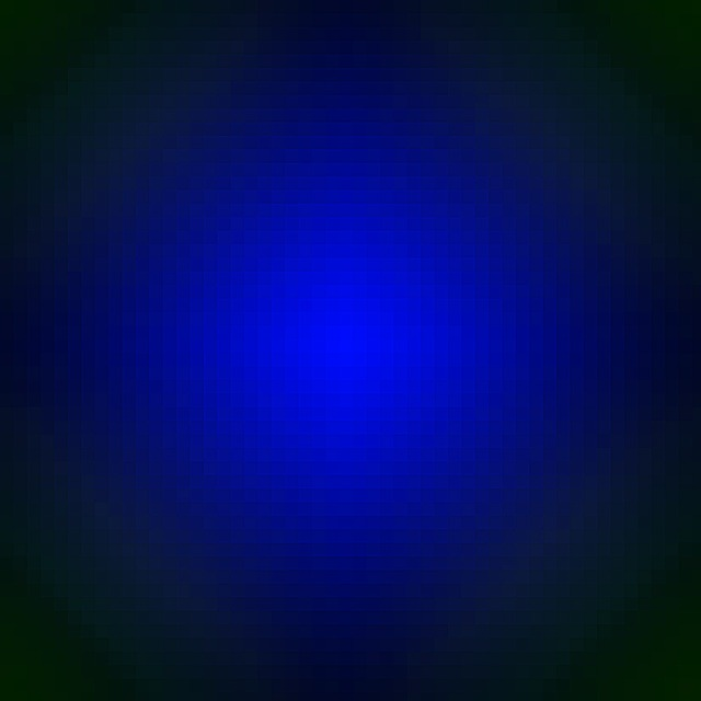 Free Illustration Gradient Circle Blue Black Free