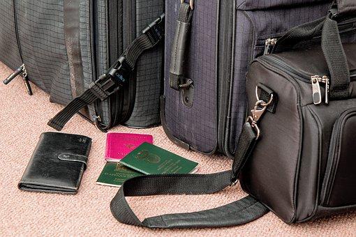 スーツケース, 旅行, バッグ, 荷物, 手荷物, 旅, 休暇, 休日, 航海