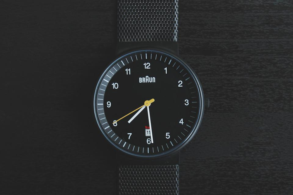 時計, 時間, 企業, 株式, 時代を超越しました, クロック, ビジネス, 期限, 分, 手, 矢印