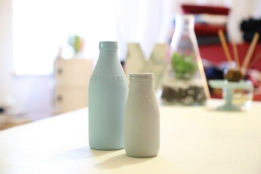 Bottle, Milk, Drink, Beverage, Cereal