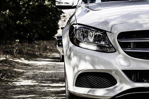 Mercedes-Benz, Car, White, White Car