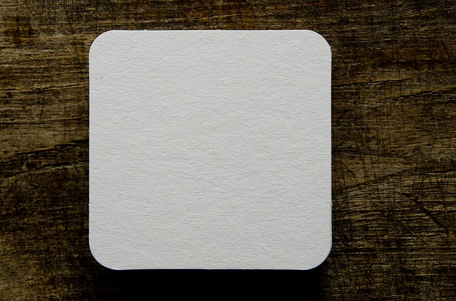 Free Photo Beer Coasters Blank Drink Table Free