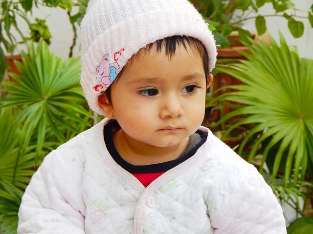 Sweet cute baby