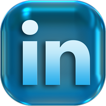 Icons Symbols Button Linkedin Turn On Stru