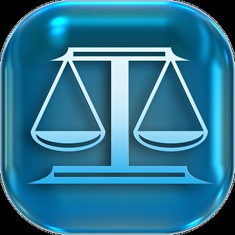 Icons, Symbols, Horizontal, Justice