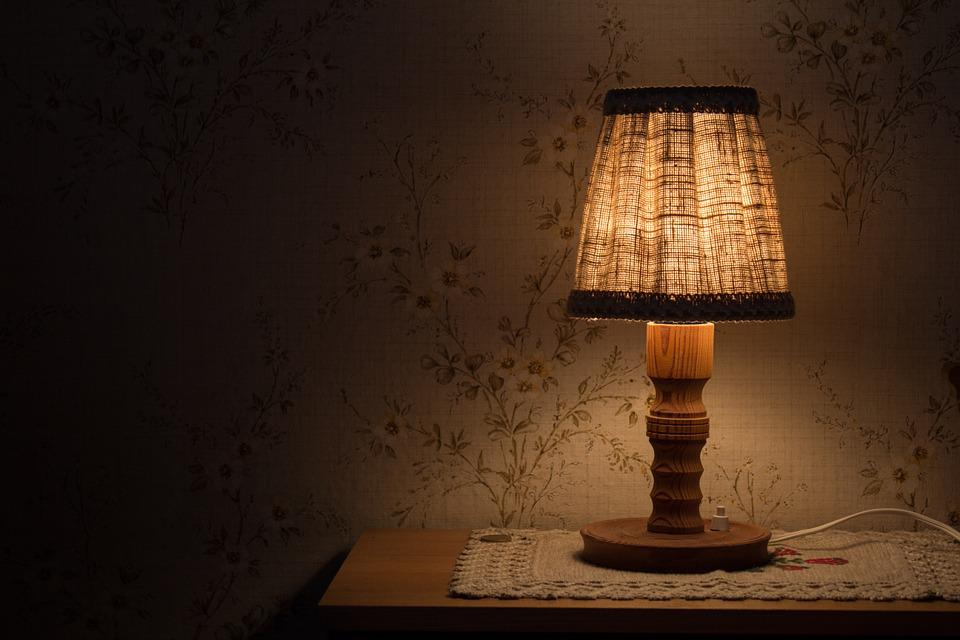Night table lamp light bedside free photo on pixabay night table lamp light bedside table shining aloadofball Images