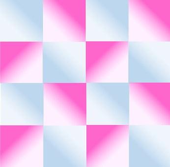 Gradient, Blue, Pink, Geometric