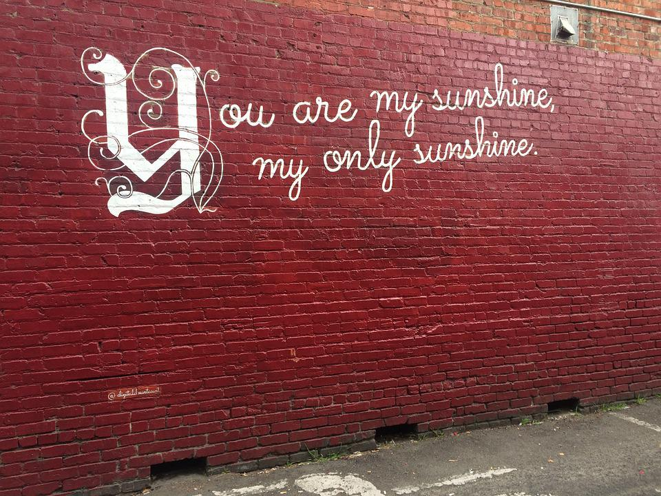 Graffiti Street Art Quote · Free Photo On Pixabay