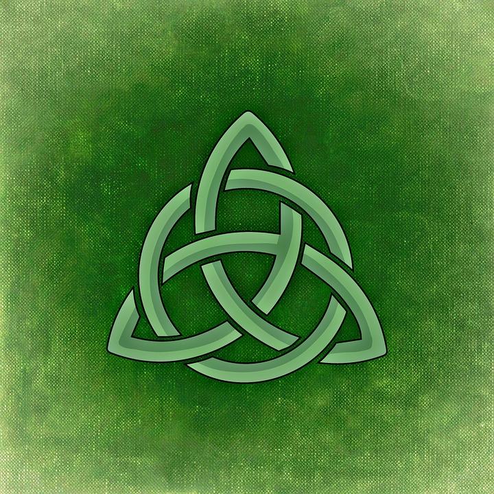 Irland Keltisches Symbol Grün Kostenloses Bild Auf Pixabay