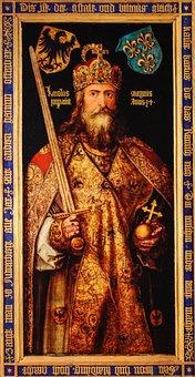 Gemälde, Bild, Kaiser, König