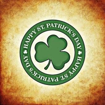 Ír, St Patrick Nap, Írország