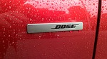 car, bose, red
