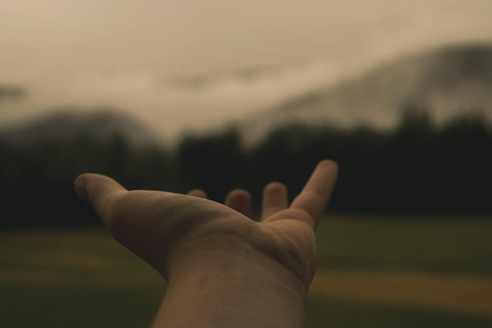 手, 保持, 達する, 場所, 両腕, 愛, 人, 女性, 一緒に, ホワイト, グループ, 人間, サポート