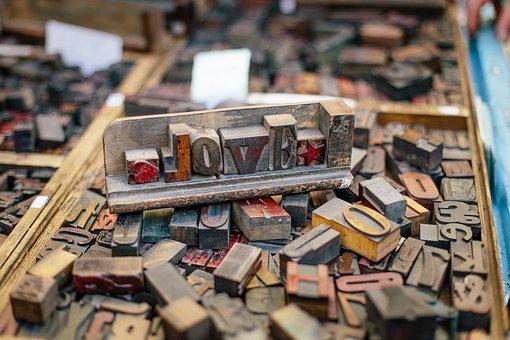 Woodtype, Wood Blocks, Wood Type, Print