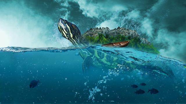 Free Illustration Sea Ocean Boot Beach Turquoise