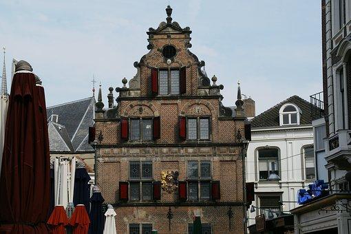 Waaggbebouw, Nijmegen, Gebouw, Nederland
