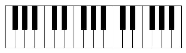 Illustrazione gratis pianoforte tastiera strumento for Strumento online gratuito piano piano
