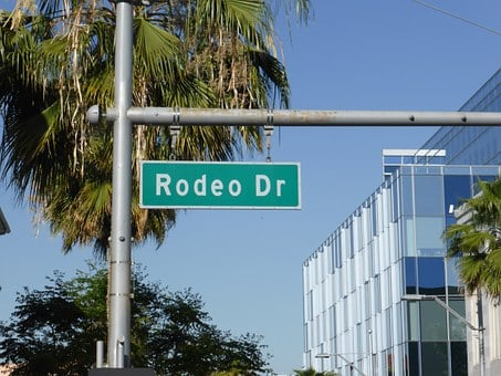 Rodeo Drive, Street Sign, Beverly, Hills