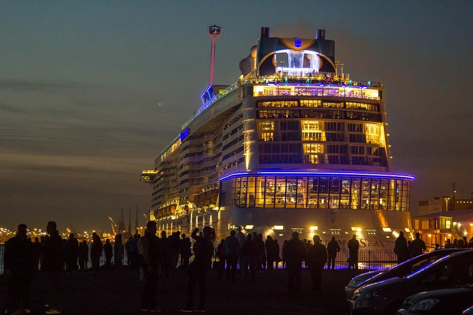 The Quantum Of The Seas, Cruiser, Ocean, Ship, Port