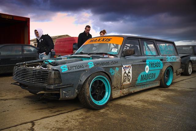 Free Photo Volvo Drift Car Norfolk Arena Free Image