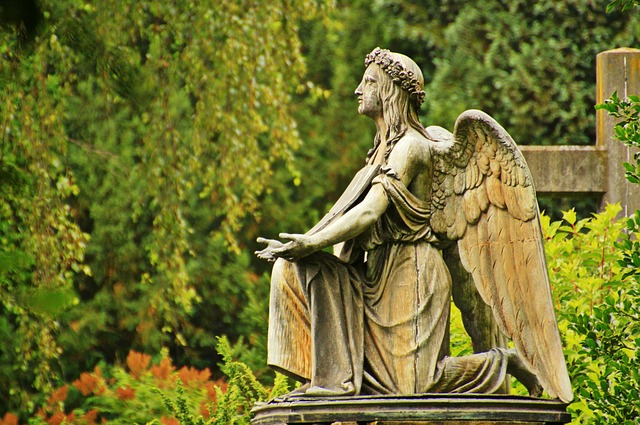 angel stone sculpture  photo  pixabay