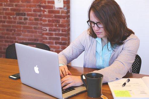 学生, 女性, スタートアップ, ビジネス, 人, オフィス, 戦略, 仕事