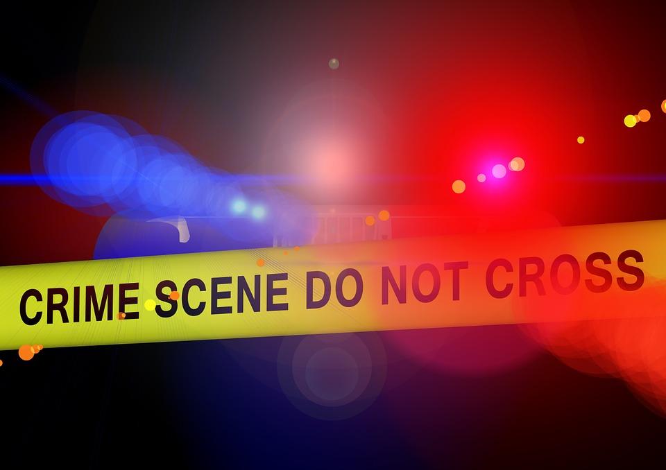 Police Crime Scene Blue Light Discovery Idea