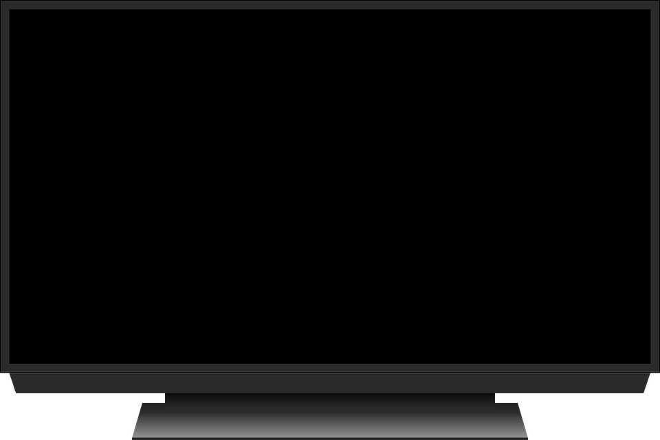 Free Vector Graphic Tv Screen Monitor Image On