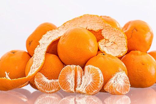 Tangerine, Mandarin, Citrus Fruit, Ripe