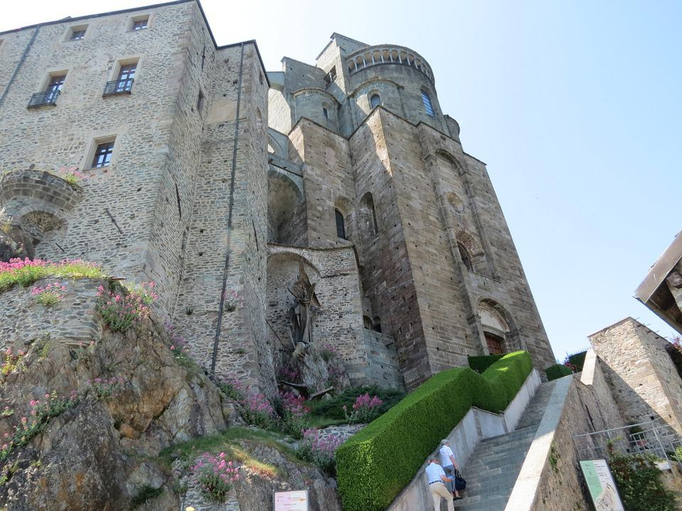 Sacra San Michele Kloster - Kostenloses Foto auf Pixabay
