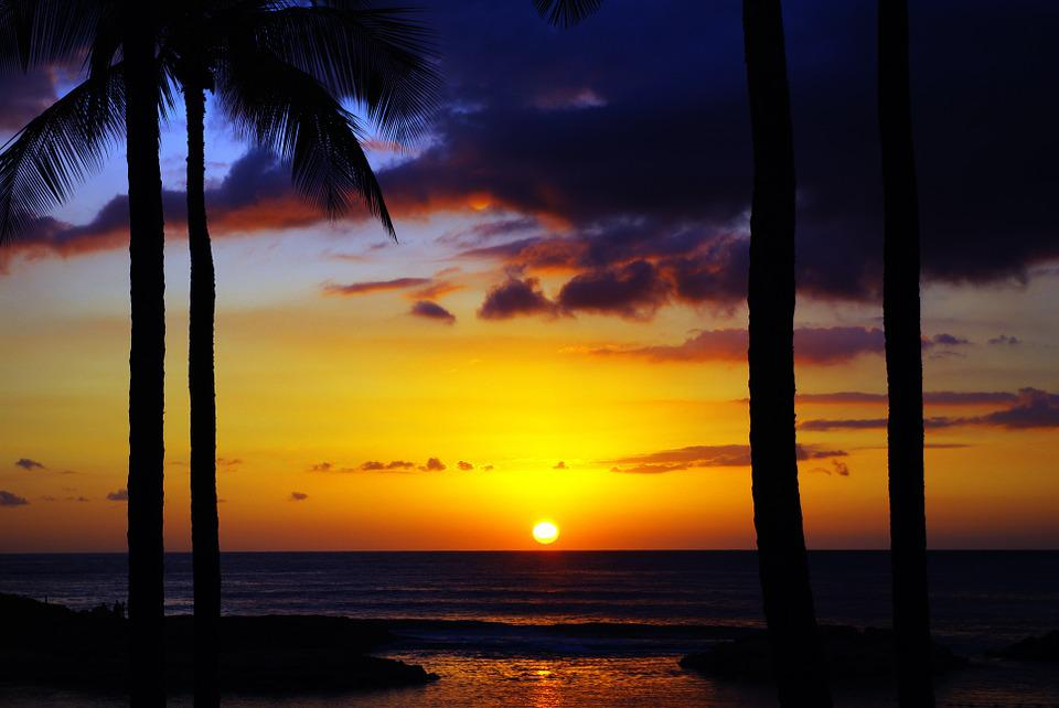 Sunrise, Hawaii, quarantine corona