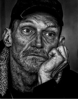 People, Homeless, Man, Poverty, Male