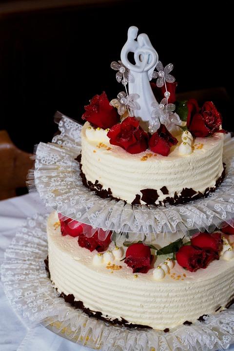 Tort De Nunta Trandafir Fotografie Gratuită Pe Pixabay
