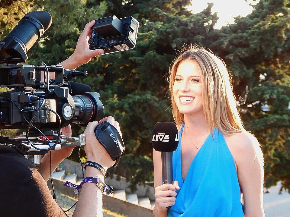 Reporter, Camera, Journalist, Media, News
