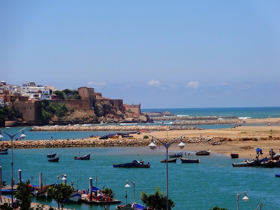 Free Photo Morocco Rabat Sea Beach Capital