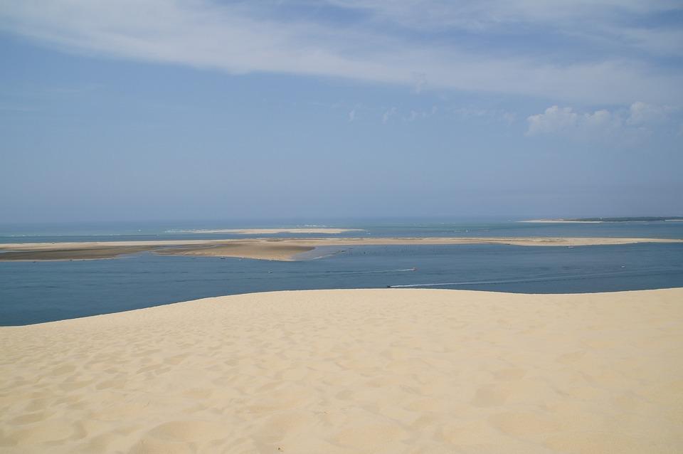 Grande, Dune, Vous, Pilat, Dune De Sable, France, Ocean