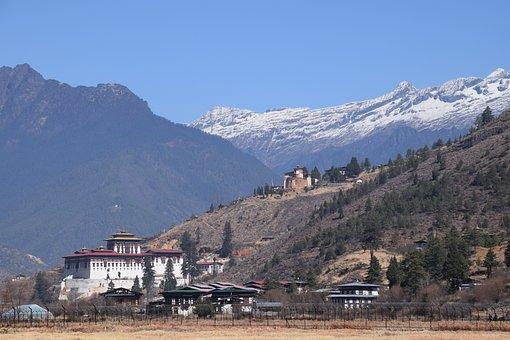 Bhutan Paro Landmark Rinpung Dzong Bhutan