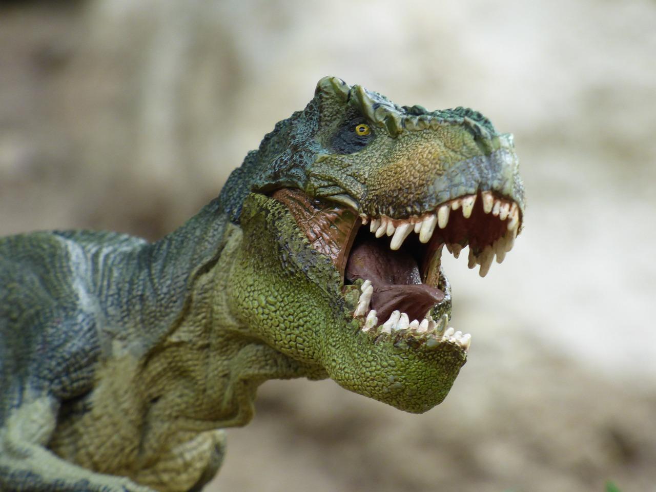 ティラノサウルス, 恐竜, 先史時代, グッズ, ゲーム, 小さな像, 肉食動物