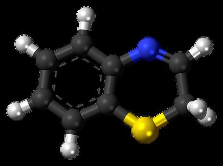 Benzothiazine, Molecule, Compound
