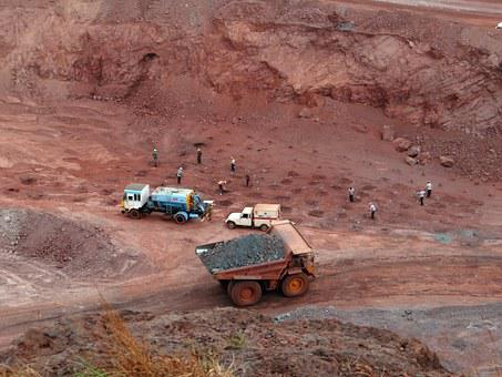 Mining Iron Ore Mine Transport Dumper Iron
