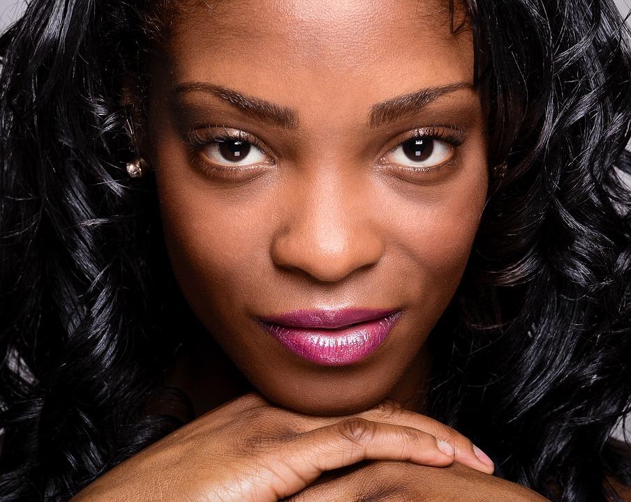 Woman, Portrait, Africa, Make-up, Cosmetics