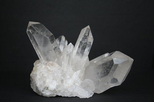 Hegyikristály, Crystal, Drágakő, Ásványi